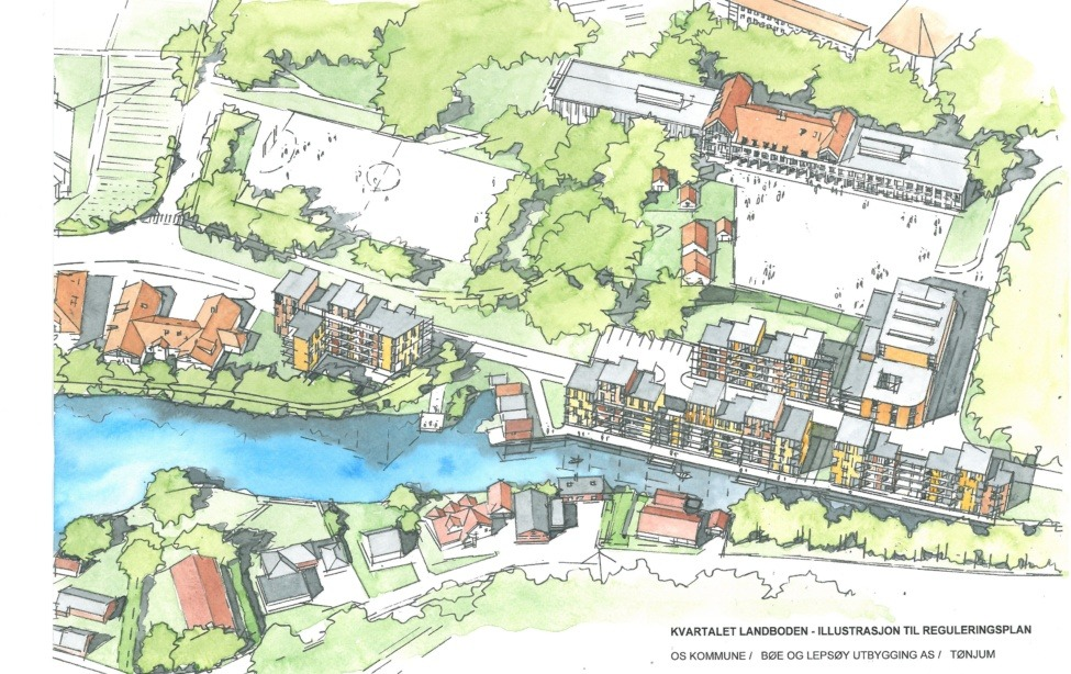 os kommune kart Os kommune | Ard arealplan | Side 2 os kommune kart
