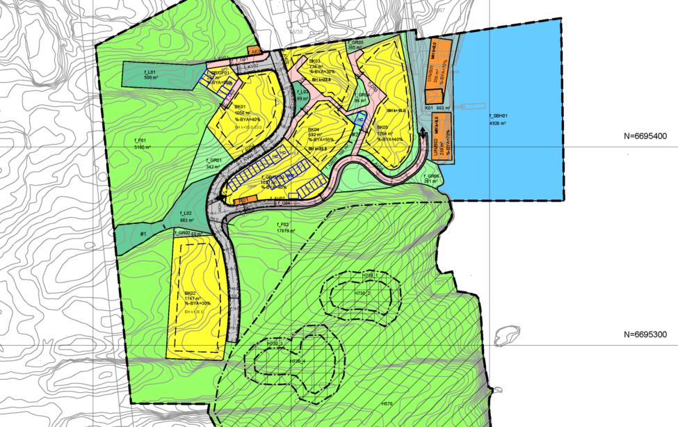 kart over fjell kommune Fjell kommune   Ard arealplan kart over fjell kommune